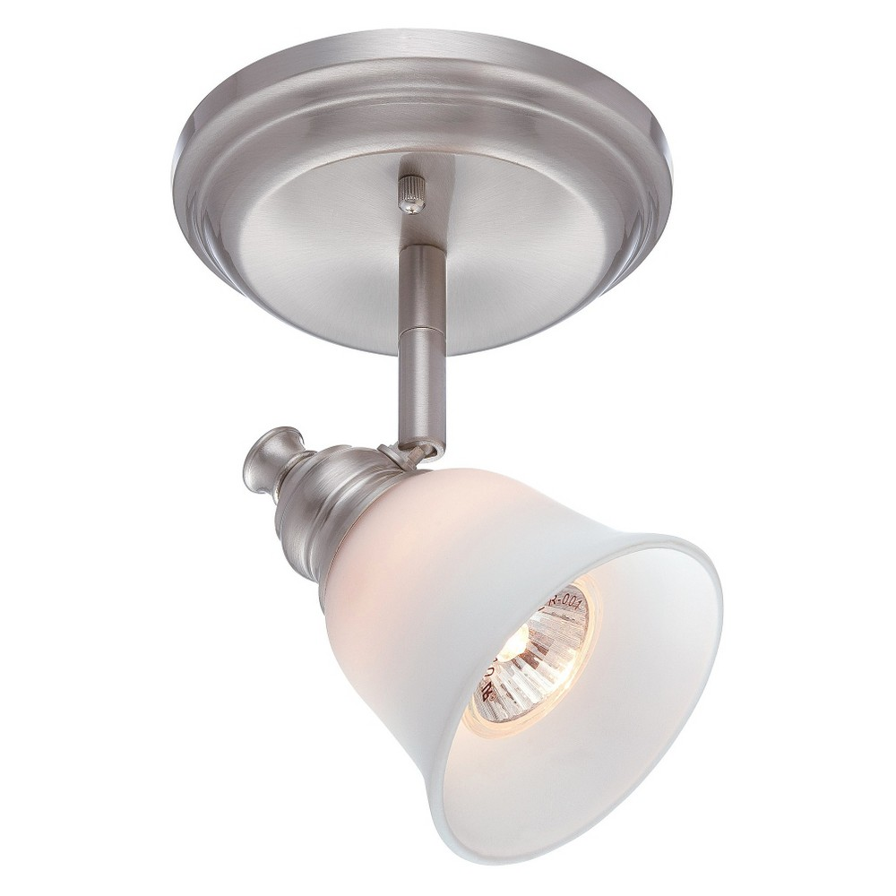 Lite Source Alcee Flush Mount Ceiling Light - Silver