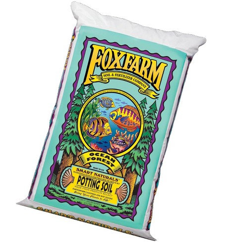 Foxfarm Fx14000 Ocean Forest Plant Garden Potting Soil Mix 6.3-6.8 Ph, 40 Pounds - image 1 of 4