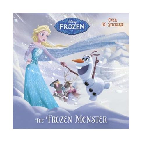 The Frozen Monster (Disney Frozen) - (Pictureback(r)) (Paperback) - image 1 of 1