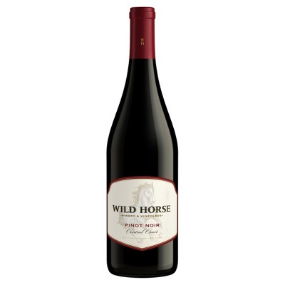 Wild Horse Pinot Noir Red Wine - 750ml Bottle