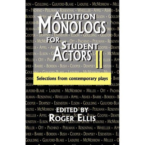 Audition Monologs for Student Actors II - (Paperback) - image 1 of 1