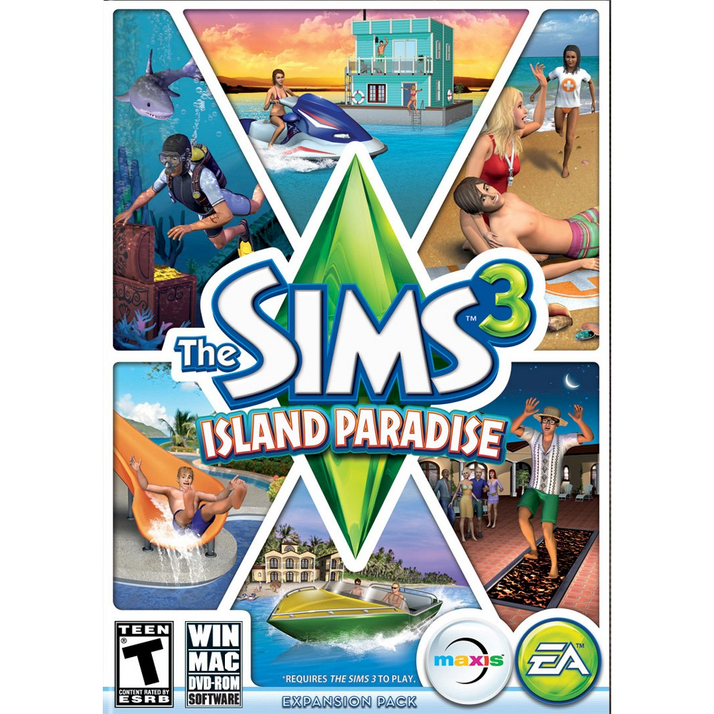 The Sims 3: Island Paradise - PC Game (Digital)