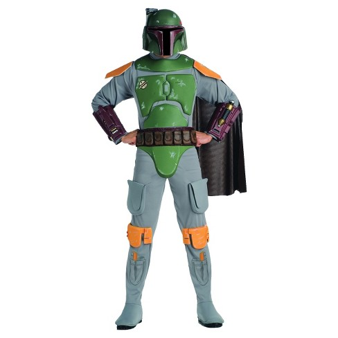 Star Wars Men's Boba Fett Deluxe Costume XXL(50-52) - image 1 of 1
