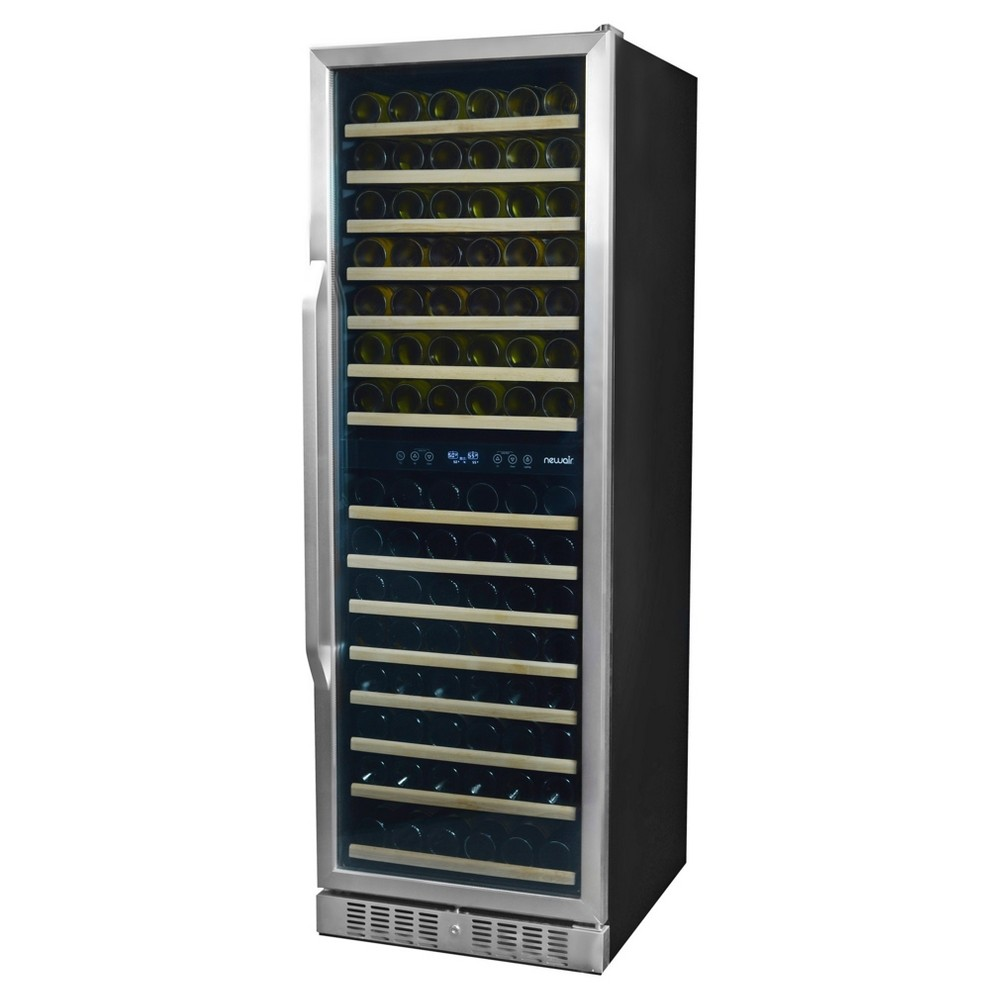 NewAir 160 Bottle Front-Venting Wine Cooler – Stainless Steel (Silver) Awr-1600DB 51846123