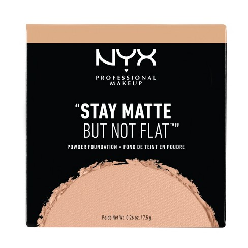"NYX Professional ""Stay Matte But Not Flat"" Powder Foundation - Medium Shades - image 1 of 3"
