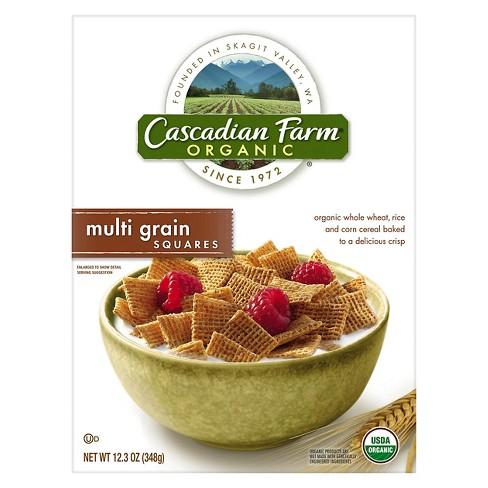 Cascadian Farm Organic Multi Grain Squares Cereal 12.3 oz - image 1 of 1
