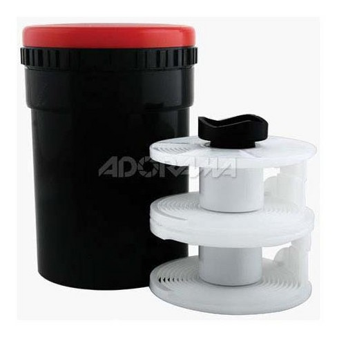Adorama Ultra Universal Plastic Daylight Film Developing Tank for Film Sizes, 35mm, 120 and 220 - image 1 of 1