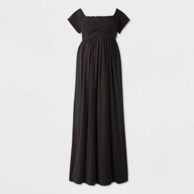 Short Sleeve Smocked Maternity Dress - Isabel Maternity by Ingrid & Isabel™