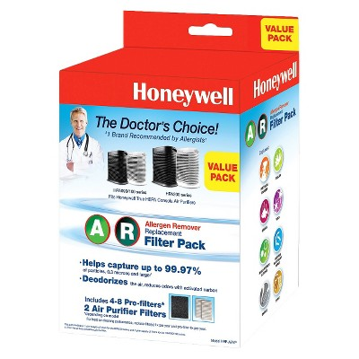 Honeywell Allergen Remover Replacement Filter Value Combo Pack