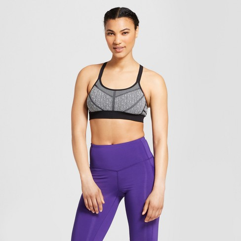 Women's Seamless Strappy Cami Sports Bra - C9 Champion® - image 1 of 3