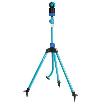 Aqua Joe Turbo Drive 360 Degree Telescoping Tripod Lawn Sprinkler