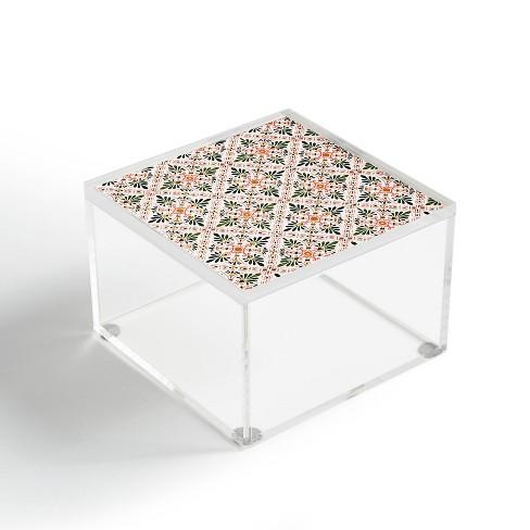 Marta Barragan Camarasa Andalusian Mosaic Pattern I Acrylic Box - Deny Designs - image 1 of 4