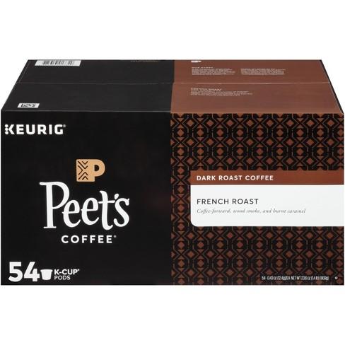 Peet's Coffee French Roast Dark Roast Coffee - Keurig K-Cup Pods - 54ct - image 1 of 3