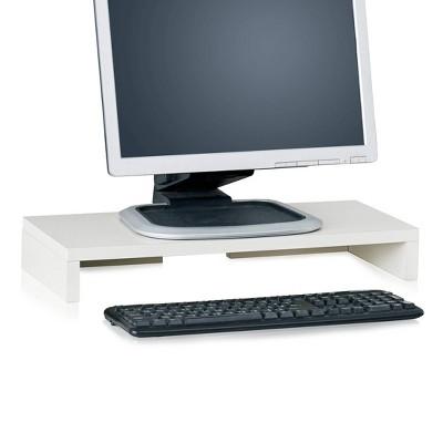 Eco Friendly Computer Monitor Stand Riser White