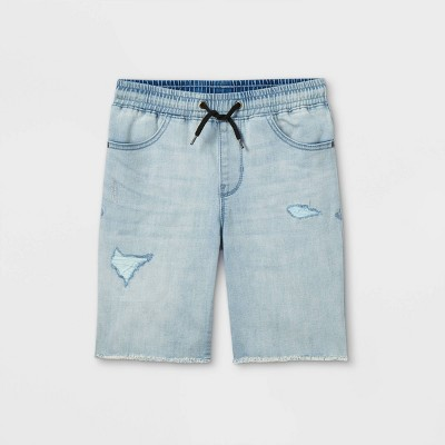 Boys' Pull-On Shorts - art class™ Light Blue
