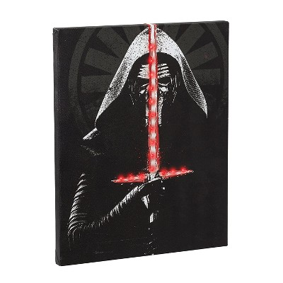 Seven20 Star Wars Kylo Ren Illuminating Canvas Wall Art
