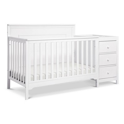 Carter's By Davinci Dakota 4-In-1 Crib And Changer Combo - White