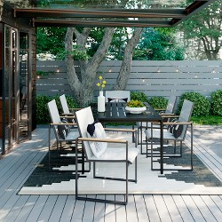 Henning 7pc Patio Dining Set - White - Project 62™