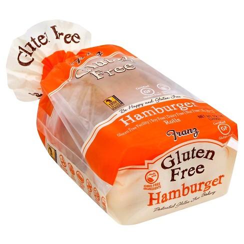 Franz Gluten Free Hamburger Buns 12oz - image 1 of 3