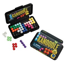 Educational Insights Kanoodle Brain-Twisting Solitaire Game 14pc