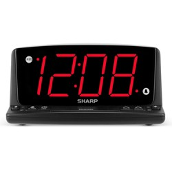 Sharp LED Night Light Alarm Clock