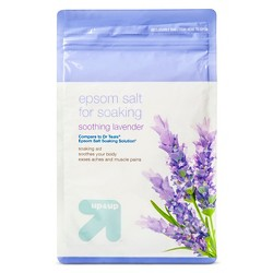Epsom Soothing Lavender Bath Salt for Soaking - 40oz - Up&Up™