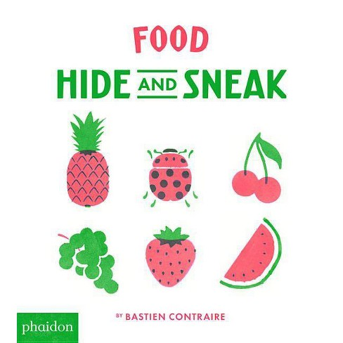 Food Hide and Sneak - (Board_book) - image 1 of 1