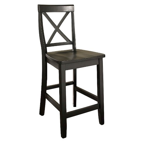 "X-Back 24"" Counter Stool (Set of Two) - Crosley - image 1 of 6"