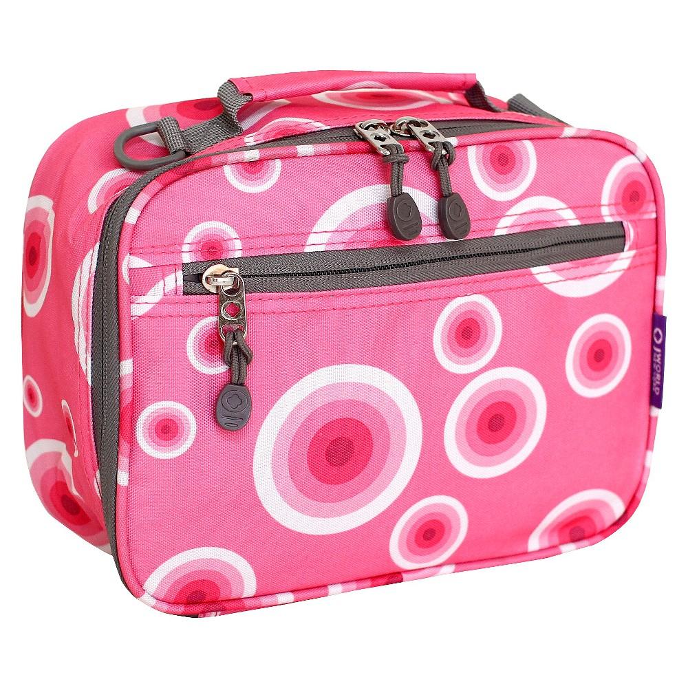 Image of J World Cody lunch Bag with Shoulder Strap - Pink Target