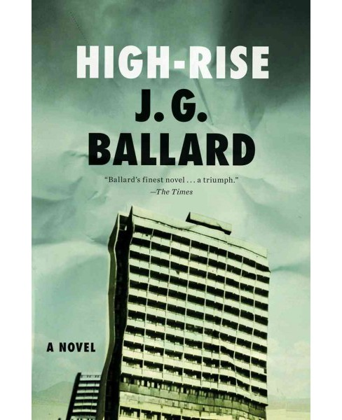 High-Rise -  by J. G. Ballard (Paperback) - image 1 of 1