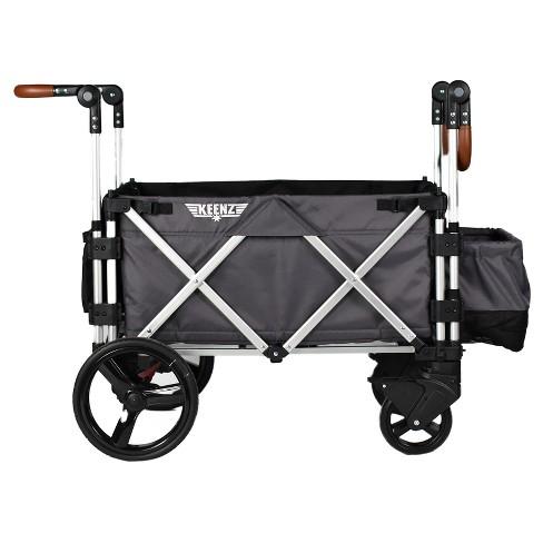 e484518f466d Keenz 7S Double Stroller Wagon - Gray. Shop all Keenz