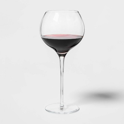 23.5oz 4pk Glass Ballooned Red Wine Glasses - Threshold™