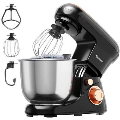 Costway 5.3 Qt Stand Mixer Kitchen Food Mixer 6 Speed w/ Dough Hook Beater Red\Black\ Pink
