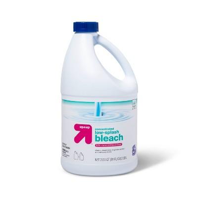Low Splash Linen Bleach - 81oz - up & up™