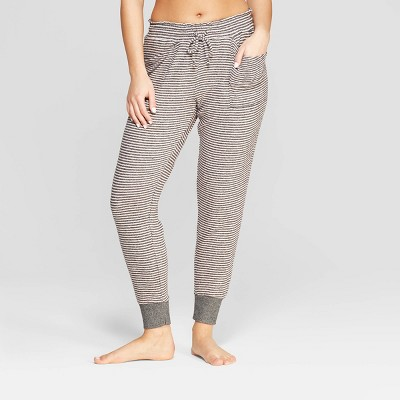 38a4ad4bb6ac Women s Striped Perfectly Cozy Lounge Jogger Pants - Stars Above™ Gray