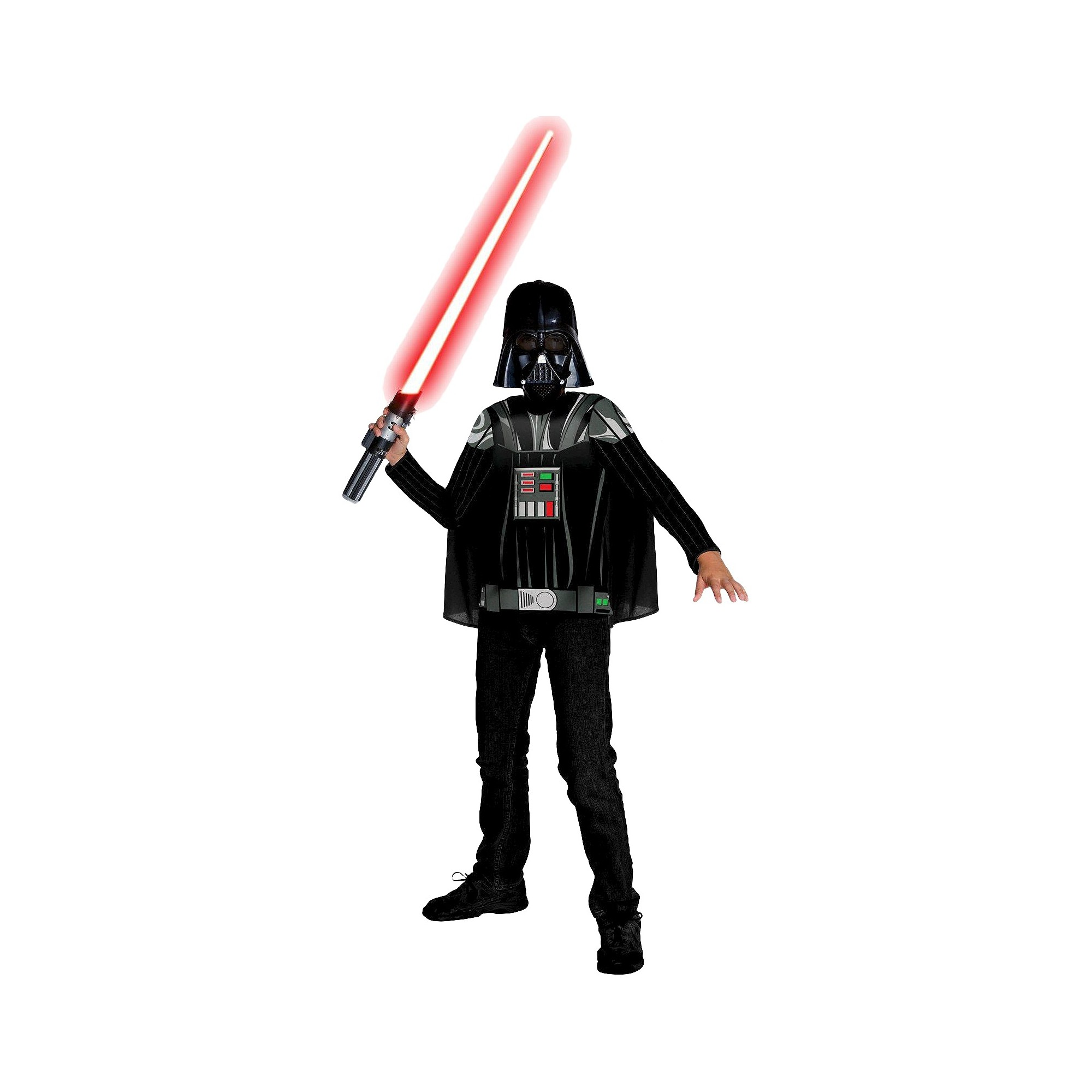 Star Wars Darth Vader Boys' Costume Small (4-6), Size: S(4-6), Black