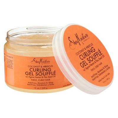 SheaMoisture Coconut & Hibiscus Curling Gel Souffle - 12oz