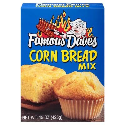 Famous Dave's Cornbread Mix - 15oz