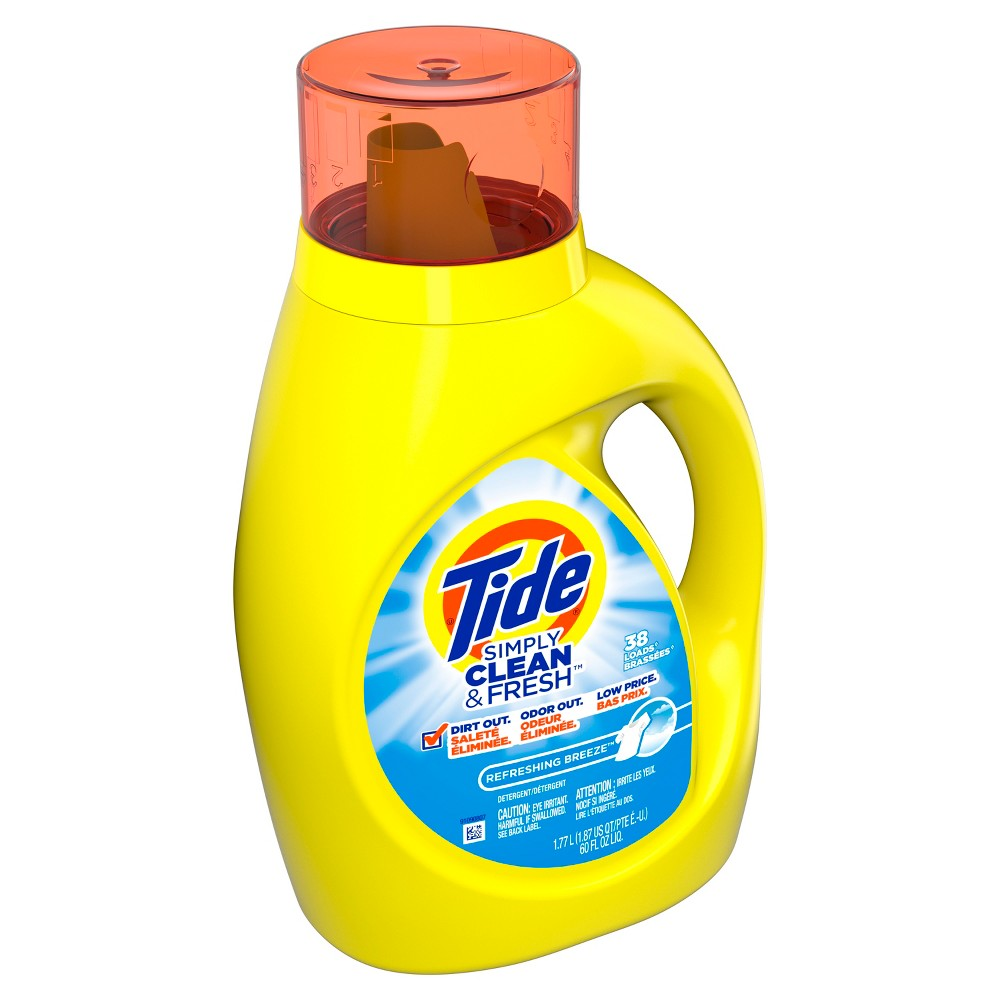 Tide Simply Clean & Fresh Daybreak Fresh Scent Liquid Laundry Detergent - 60 fl oz