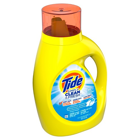 Tide Simply Clean & Fresh Daybreak Fresh Scent Liquid Laundry Detergent - 60 fl oz - image 1 of 4