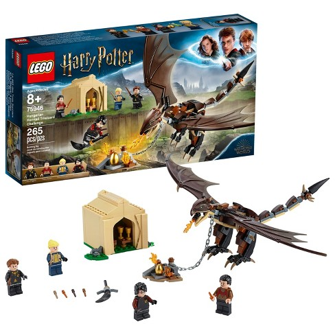 LEGO Harry Potter Hungarian Horntail Triwizard Challenge 75946 Toy Dragon Building Kit 265pc - image 1 of 4