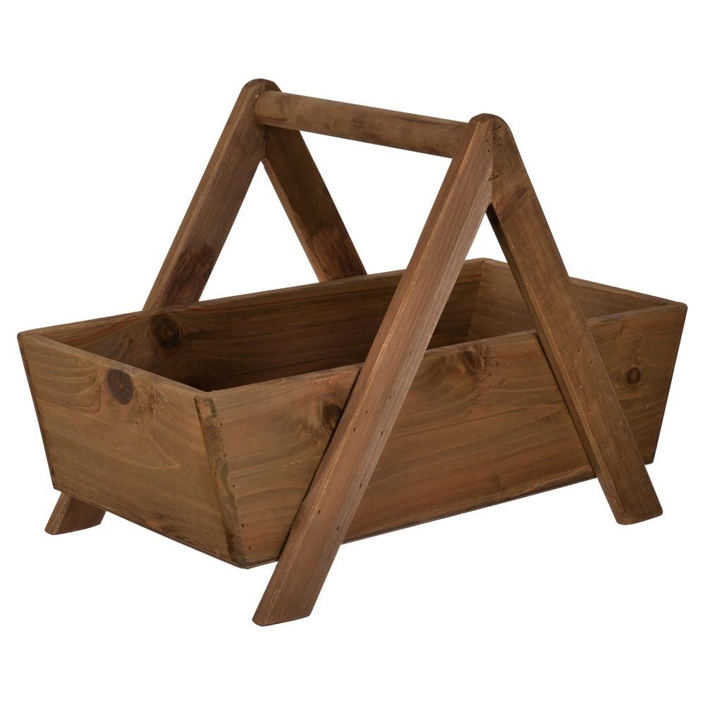 Wood Storage Basket - A&b Home, Brown