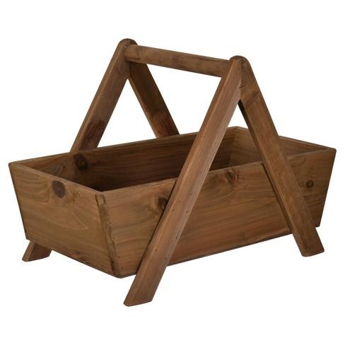 Wood Storage Basket - A&B Home - image 1 of 1