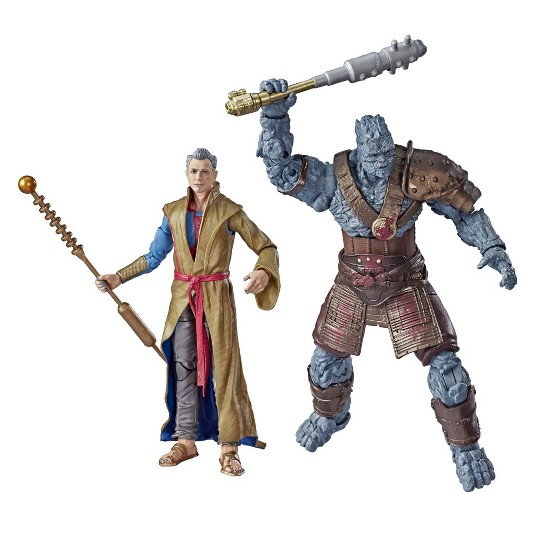 Marvel Legends Series Thor Ragnarok Action Figure 2pk - The Grandmaster & Korg image number null