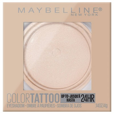 Maybelline Color Tattoo Up To 24HR Longwear Cream Eyeshadow Makeup - 0.14oz