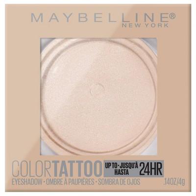 Maybelline Color Tattoo Up To 24HR Longwear Cream Eyeshadow Makeup - 0.14oz