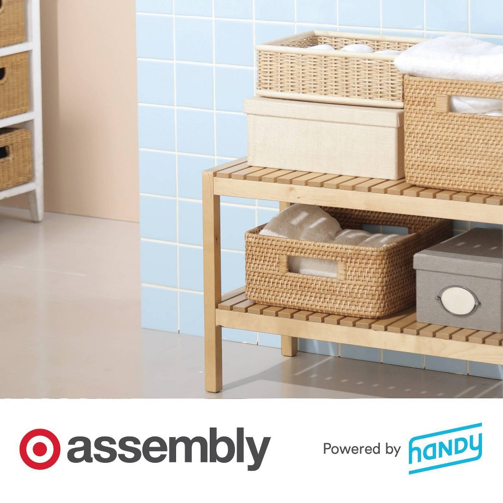 Decorative Storage Assembly Powered By Handy