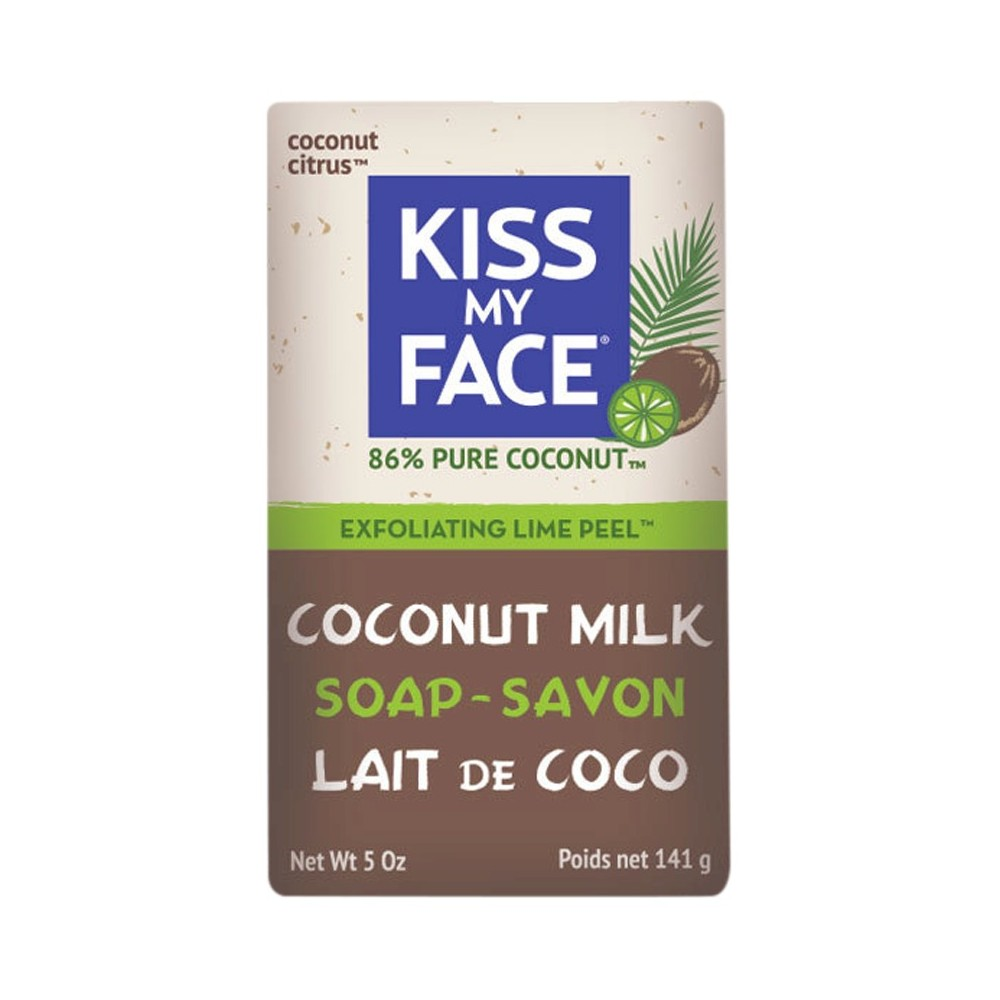 Image of Kiss My Face Coconut Lime Exfoliating Bar Soap - 5oz