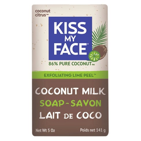 Kiss My Face Coconut Lime Exfoliating Bar Soap - 5oz - image 1 of 1