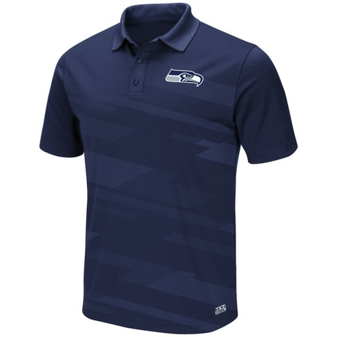 new products 39a98 fd58e Seattle Seahawks Men's Short Sleeve Polo Shirt